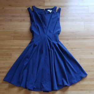 Navy Formal Party Dress